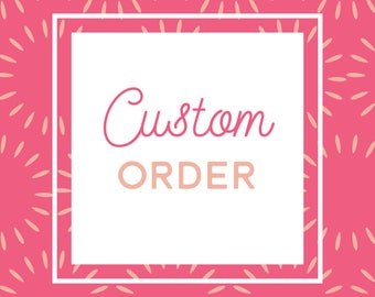 Custom Revision and Reprinting Fee for Rachael M