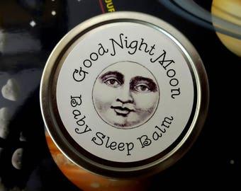 Good Night Moon Baby Sleep Balm 2 oz.  Sleep Salve, Relaxing Salve, Chamomile Salve, Lavender Salve, Baby Salve, Fretful Baby Salve