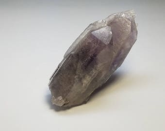 Smoky Amethyst Quartz Crystal Mineral Specimen California Q0050