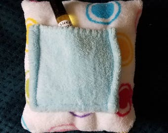 Bedtime Pillow with Sleep Oil Pocket or Tooth Fairy Pocket