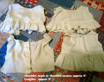 4 Antique 1910's Baby Undergarments