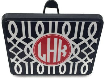 Monogram Trailer Hitch Cover - Monogrammed Gifts - Personalized Car Accessories