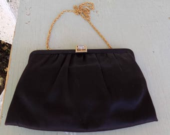 Vintage black evening purse