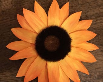 Wood Sunflower Sola Wood Flower