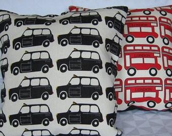 Springsale London taxi cushion cover