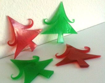 Jolly Tree Soaps ~ Christmas Soap ~ Christmas Wedding Favors ~ Holiday Party Favors ~ Holiday Soap ~ Holiday Favors ~ Christmas Party Favors