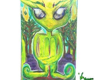 Onelias the Pixie Sticker !