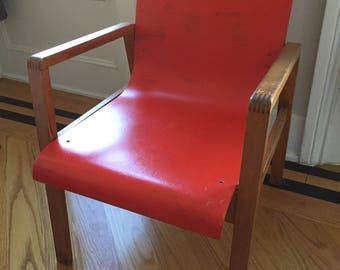Alvar Aalto Hallway Chair Model No.403 by Finmar