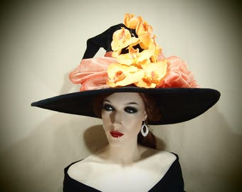 """Witch Hat """"Orchid-You-Not!"""""""