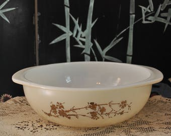 Vintage Golden Branch Pyrex Bowl