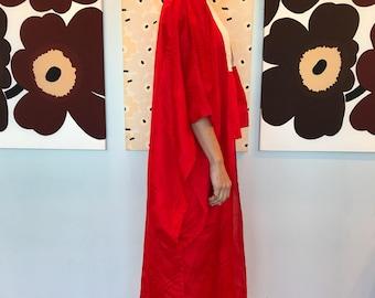 Vintage red kimono