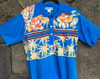 Original OP Pull over Aloha Shirt