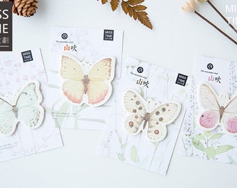 Pretty Pastel Butterfly Sticky Note SN45011B