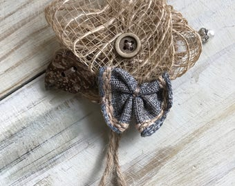Boutonniere, Rustic Boutonnieres, Groomsmen Boutonniere, Best MAN, country wedding