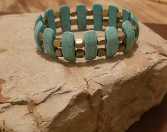 "7"" stretchy cuff bracelet"