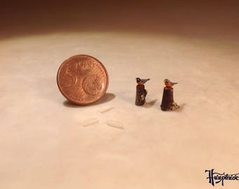Micro American robins (Model A)