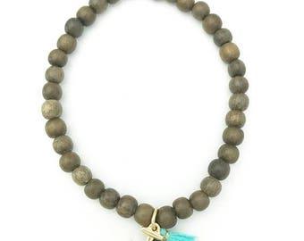 SUMMER SALE Anchor tassel bracelet