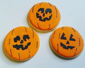 Halloween  Jack-O-Lantern Stencil
