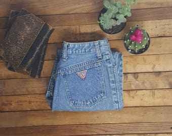 """80s Guess w29"""" Jeans Georges Marciano zipper ankles,rare find!!"""