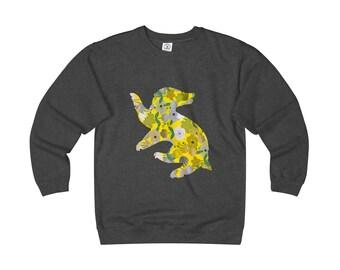 Hufflepuff Floral Heavyweight Sweatshirt