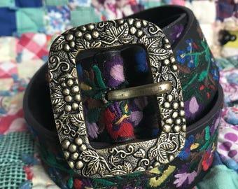 Lucky Brand Embriodered Belt