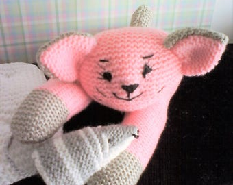 SNIPS in pink and gray mouse