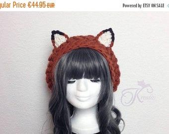 SALE Fox hat