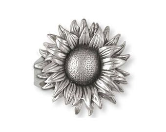 Sunflower Ring Jewelry Sterling Silver Handmade Flower Ring SF2-R