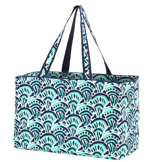 make waves Ultimate tote bag navy blue oversized bag monogrammed tote bag beach bag pool bag summer bag monogrammed gift
