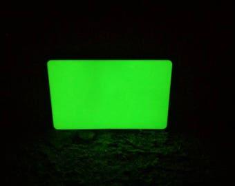Credit card emergency light