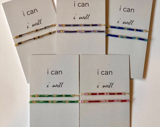 Words to Run By: I Can I Will