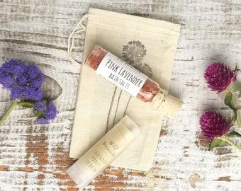 Gift Set, Mini Bath Salt, Lip balm, Bridesmaid Gift, Birthday Gift, Stocking Stuffer, Gift Under 10