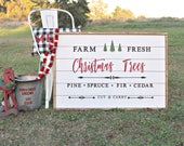 Farm Fresh Christmas Trees Holiday Decor (DIY)