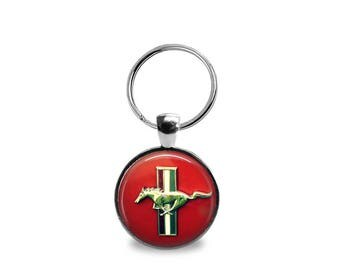 Vintage Ford Mustang Key Chain or Pendant