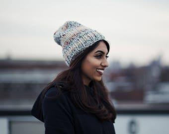Knit Winter Hat, Colorful & Cozy l SPLASH