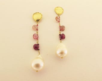 Earrings ''CATENELLE'' series . FREE shipping