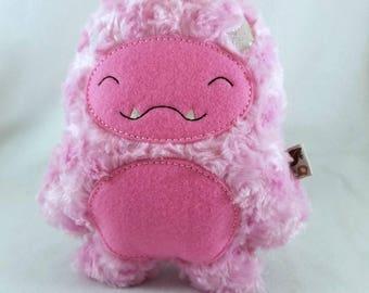Pink Ludo Plush - Sasquatch Plush - Big Foot