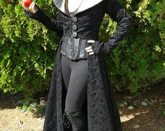 Handmade Once Upon a Time OUAT Regina Mills, Evil Queen Cosplay set