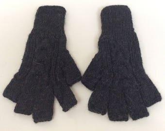 HandKnitted Baby Alpaca Fingerless Gloves,Handknitted Peruvian Gloves,Soft and warm winter fingerless gloves,My Peruvian Treasures,Unisex