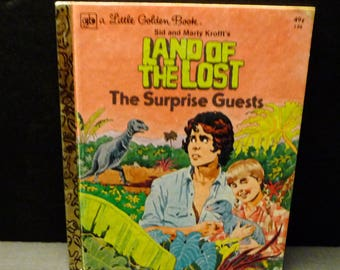 Land of the Lost- The Surprise Guest - Little Golden Book - 1975