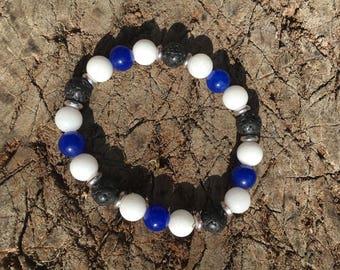 Malaysian Jade Aromatherapy Bracelet