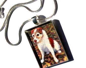 Custom Dog Portrait, Custom Dog Portrait Pendant ,  Dog Memorial Portrait , Dog Portrait Necklace, Dog Portrait, Pet Memorial, Pet Portrait