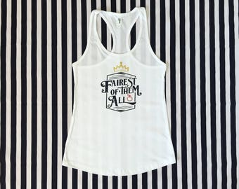 Fairest Of Them All Tank Top Snow White