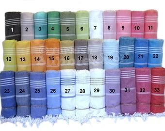 S A L E, Turkish Towel Turkish Beach Towel Peshtemal Turkish Bath Towel Fouta Bridesmaid Gift Wedding Gift Favor Turkish Towel For Her