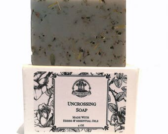 Uncrossing Shea Herbal Soap with Herbs & Essential Oils Hoodoo Voodoo Wiccan Pagan