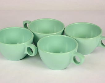 Eight 8 Syscoware Mint Green Melamine Mugs