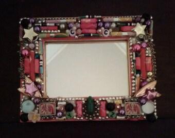 Frame- Junk Art (miniature)