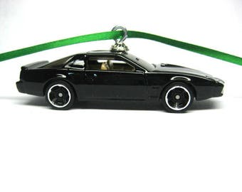 1982 Pontiac Firebird Trans Am KITT Knight Rider TV Series Car Hot Wheels Ornament