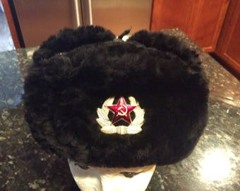 Vintage Russian police hat