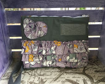 Simple Cross-body Bag (Lavender Floral)